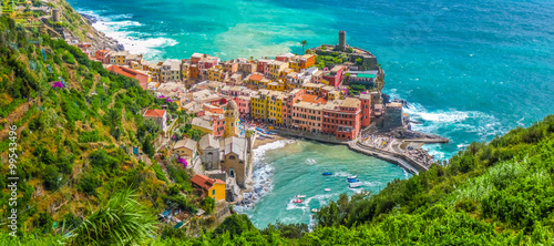 Keuken foto achterwand Liguria Town of Vernazza, Cinque Terre, Italy