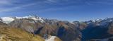 Panorama - Hohe Tauern mit Großglockner