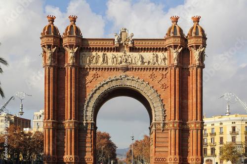 In de dag Barcelona Barcelona Arc de Triomf