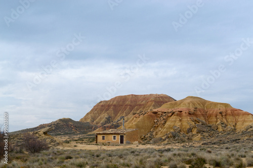 Poster House in Bardenas