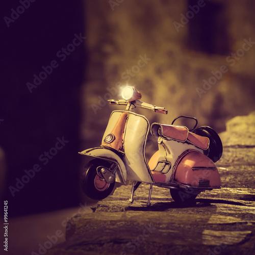 Keuken foto achterwand Scooter Vespa anni '50