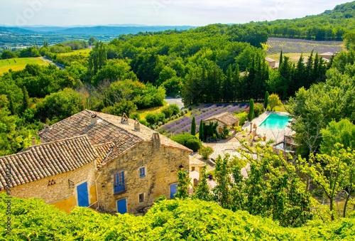 Fotobehang Lavendel Provence, France