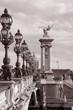 Pont Alexandre III Bridge, Paris, France, Europe