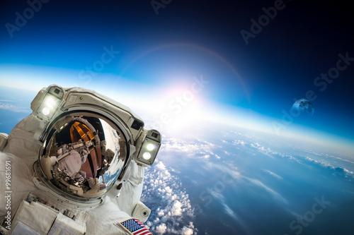 Fotobehang Nasa Astronaut in outer space