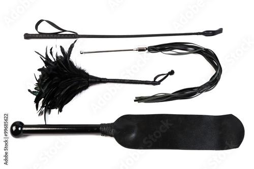 Peitschen, Paddle, und Staubwedel