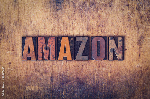 Amazon Concept Wooden Letterpress Type
