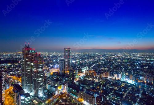 Fotobehang Tokio 東京風景