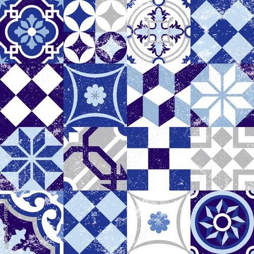 bezszwowa-deseniowa-rocznika-blekita-plytki-dekoracja