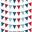 Seamless Bunting Background
