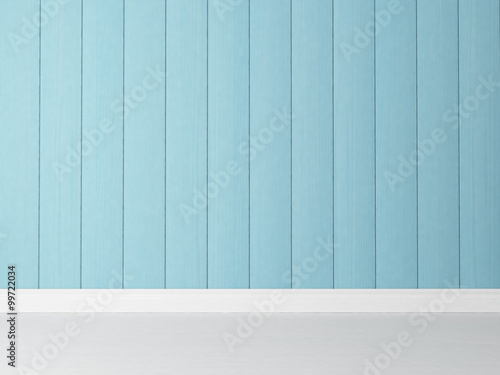 vertical blue wooden wall background rendering