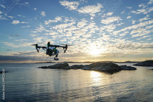 Billede Golden Drone