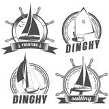 set of logos for sailing - 99744237