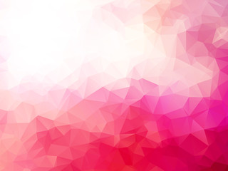 abstract triangular pink red background © mimacz