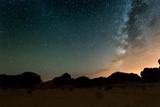 Night in Wadi Rum desert. Jordan - 99744898