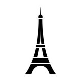 Eiffel Tower / Tour Eiffel in Paris flat icon for apps and websites