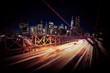 Obrazy na płótnie, fototapety, zdjęcia, fotoobrazy drukowane : Evening Traffic in New York