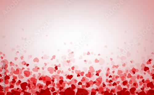 Zdjęcia na płótnie, fototapety, obrazy : Background with hearts.