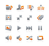 Web and Mobile Icons 7 -- Graphite Series