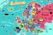 Europe Map - 99854478