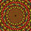 Colorful circular design
