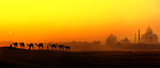 Tourism panoramic landscape of Agra, India - 99869035