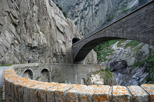 obraz PCV Devil's bridge