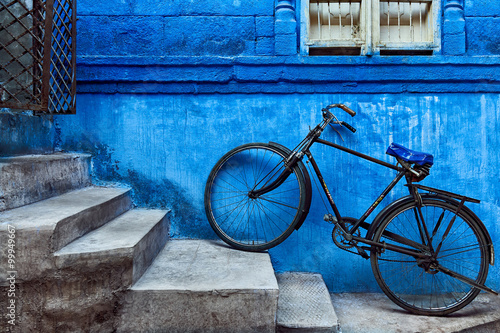 Foto Murales Jodhpur - the blue city