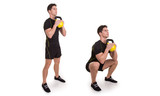 Kettlebell, Front Squat, Exercise