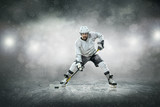 Hokej na lodzie na lodzie, na zewn? Trz