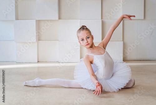 Naklejka Маленькая балерина
