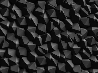 Abstract Dark Geometric Wall Background