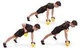 Kettlebell, Walking Row, Exercise