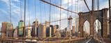 Fototapety Panoramic view of Brooklyn Bridge