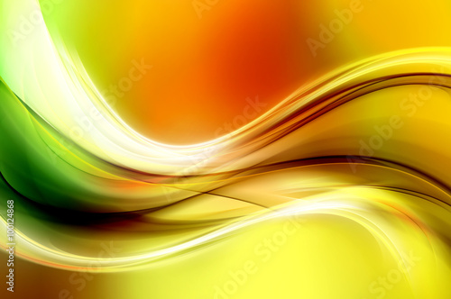 Abstract Colorful Wave Design Background
