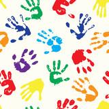 Fototapety rainbow fingerprints
