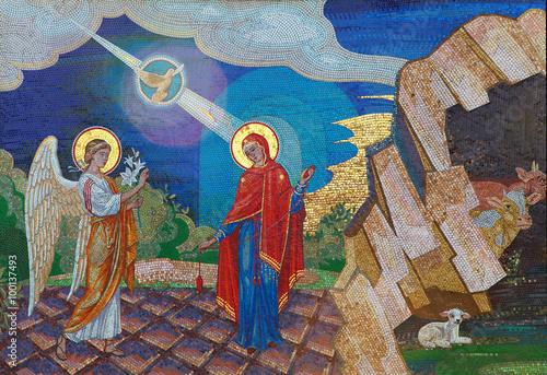 Fototapeta Religion. Mosaic of Saints. Orthodox church in Kirowograd Ukraine