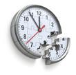 Clock puzzle concept