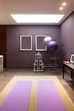 Fototapety interior of modern exercise room