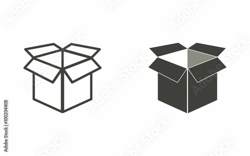 Box - vector icon.