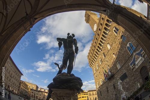 Foto op Plexiglas Florence Toscana,Firenze,Loggia dei Lanzi.
