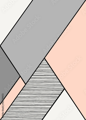 Abstract Geometric Composition © Iveta Angelova