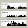 United Kingdom city skylines - 100257846