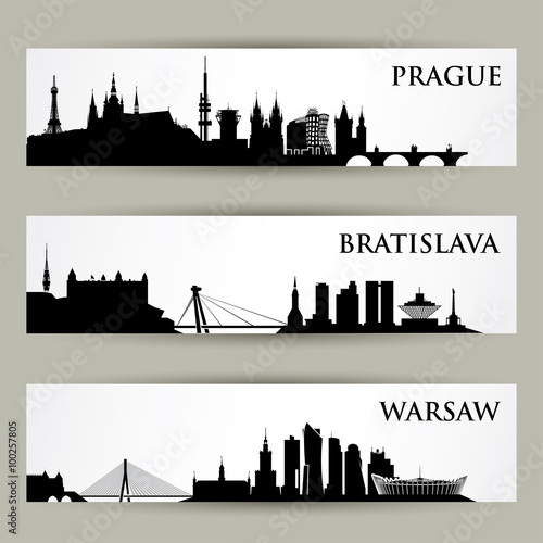 Poster Central Europe cities skylines