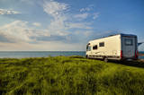 Fototapety Recreational vehicle in a meadow