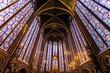 The Sainte Chapelle in Paris