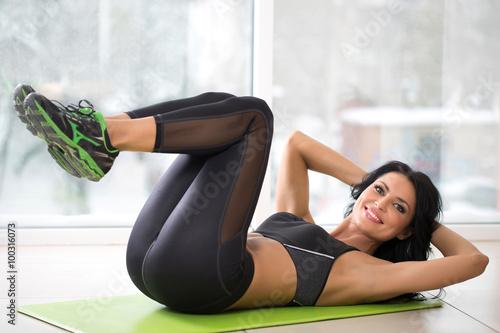 fototapeta na ścianę athletic woman