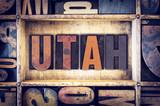 Utah Concept Letterpress Type