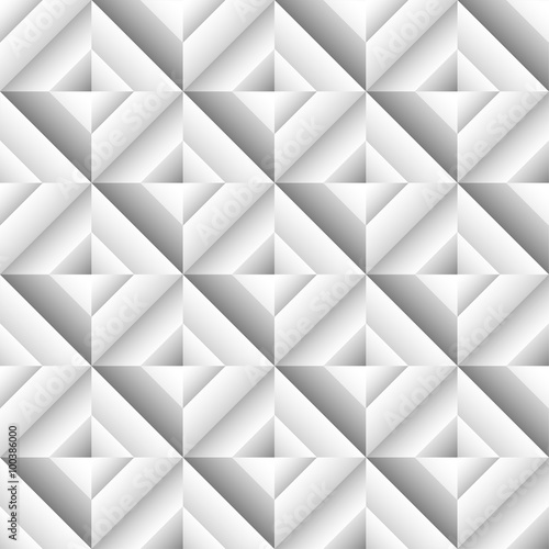 Abstract 3d surface, revetment background. Repeatable pattern. - 100386000