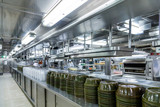 Serving Domes in Commercial Kitchen