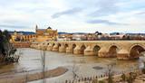 Fototapety Puente romano, Río Guadalquivir, Córdoba, España